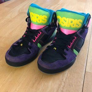 Osiris NYC 83 SLM Skate Shoes Multi-Colored